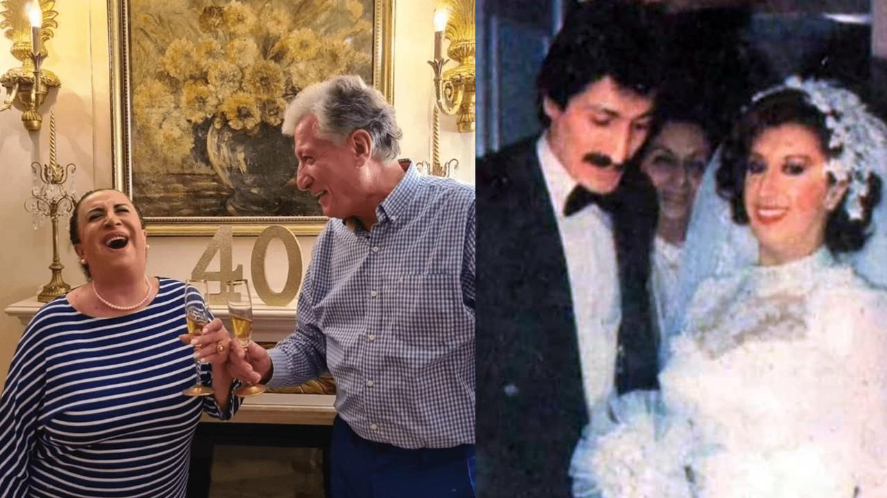 Perran Kutman ve Koral Sarıtaş'ın 40.yıl kutlaması