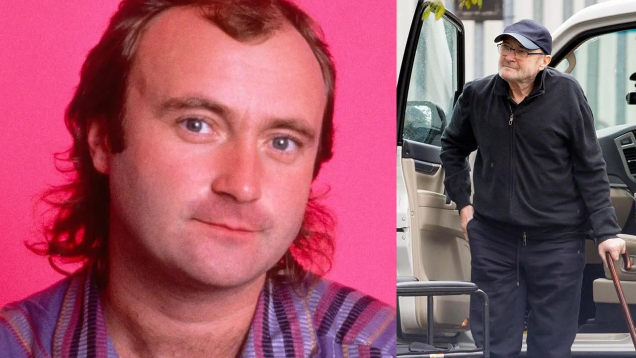 Phil Collins'in elleri tutmuyor