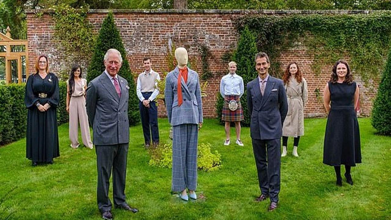 Prens Charles'dan çevreci moda koleksiyonu