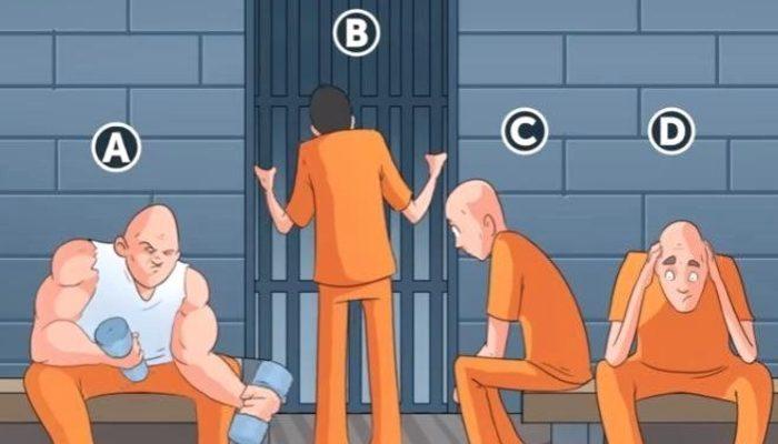Resimdeki mahkumlardan hangisi yeni?