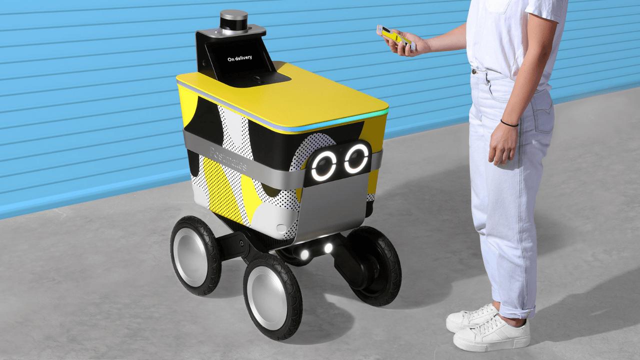 Robot kuryeler ve Serve Robotics