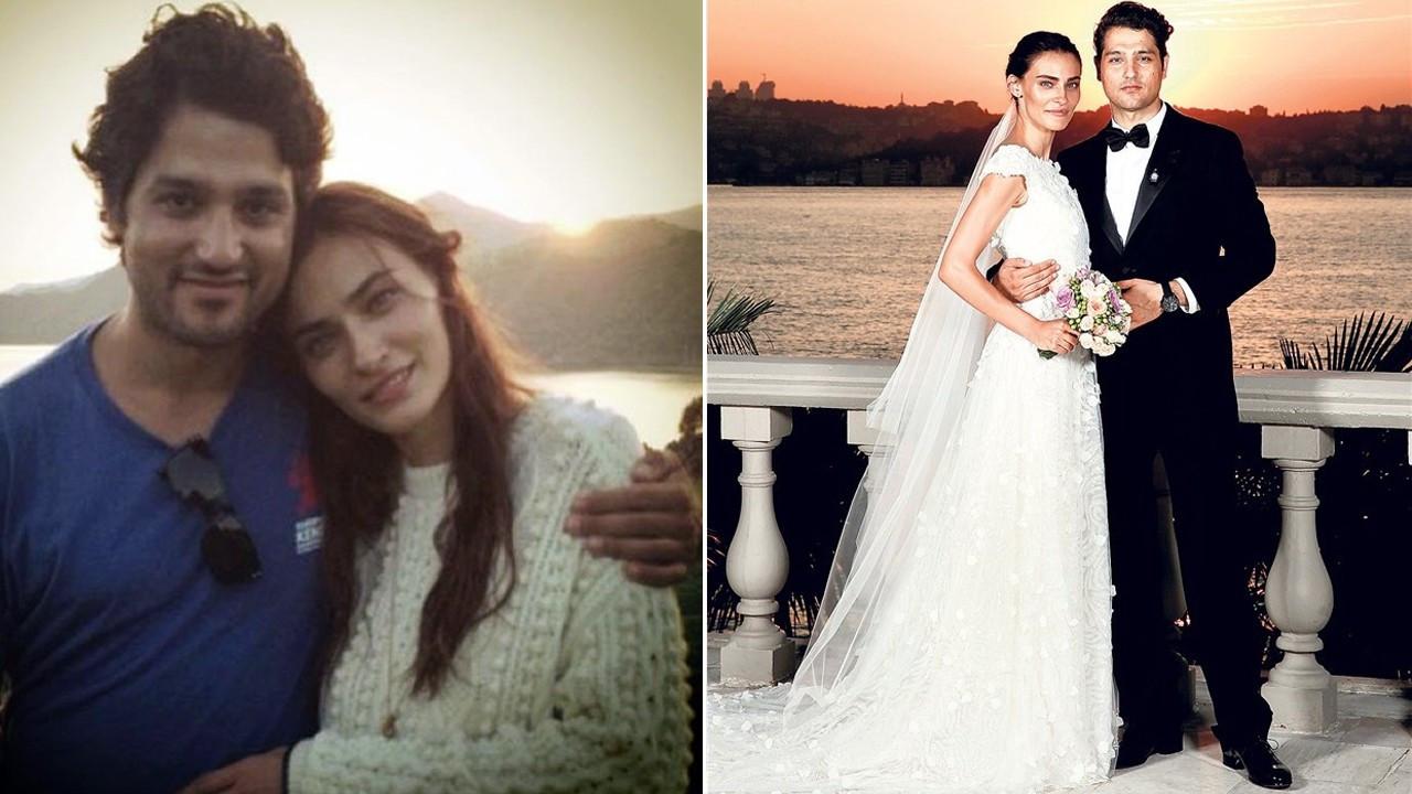 Saadet Işıl Aksoy'dan eşine romantik kutlama