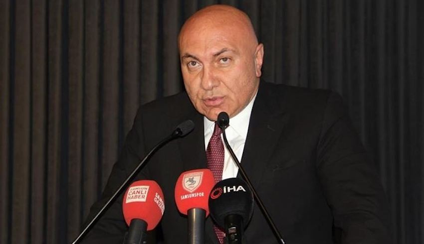 Samsunspor Başkanı Yıldırım'dan transfer tepkisi: Çoğu takımlar borçiçinde ama bu paraları nereden buluyorlar