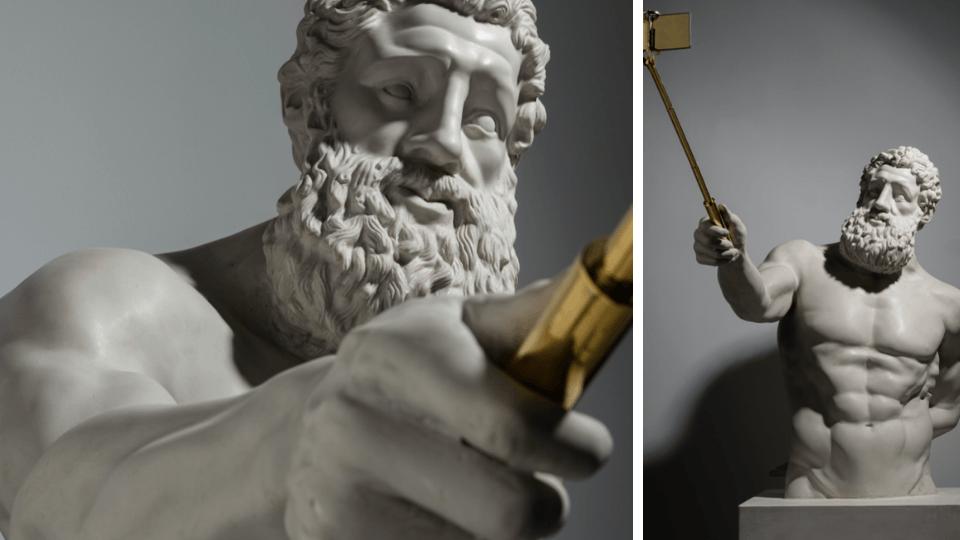 Sanatçı Emre Yusufi, Instagram hesabına sahip fiziksel heykelini NFT olarak 40 Ethereum'a sattı