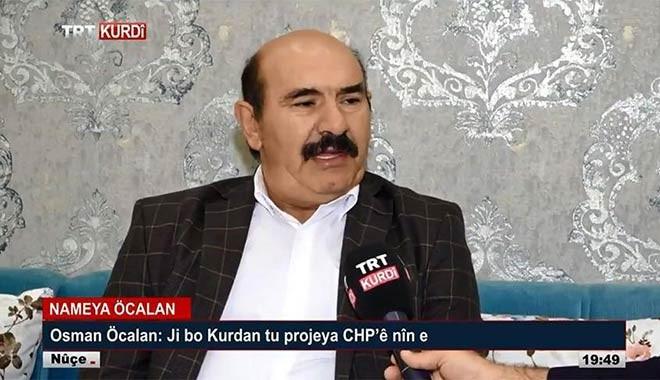 Savcı Sayan açıkladı: TRT, Osman Öcalan'ı PKK'yı çökertmek için ekrana çıkardı
