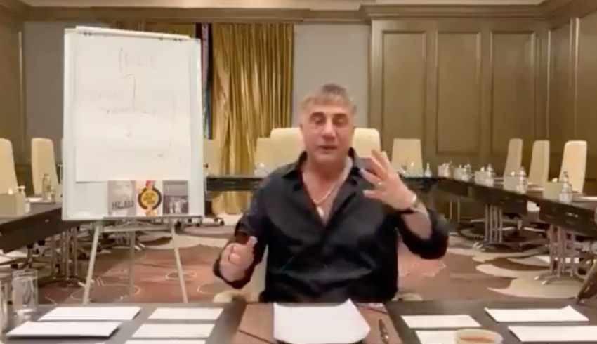 Sedat Peker'den gözaltına alınan kardeşi hakkında açıklama: Mehmet Ağar'la Korkut Eken'i neden gözaltına almıyorsunuz