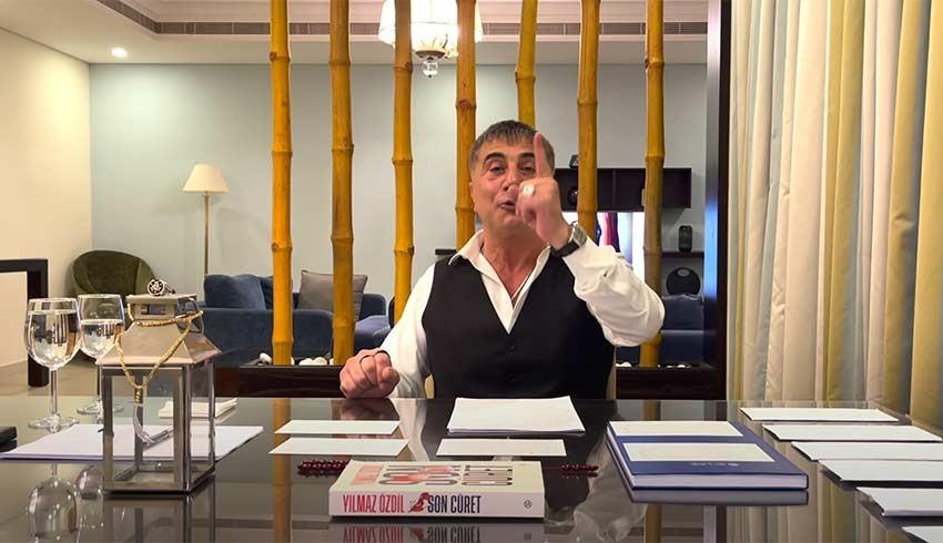 Sedat Peker'den Hürriyet'e saldırı yapılmasını isteyen milletvekili kim?