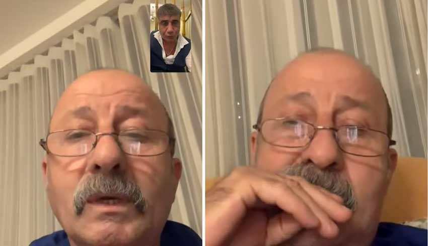 Sedat Peker'den son açıklama: Reşat Hacıfazlıoğlu'yla görüşmesini paylaştı