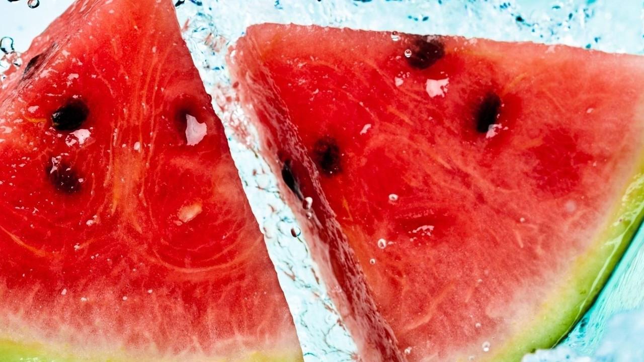 Sıcaklara karşı su deposu besinler