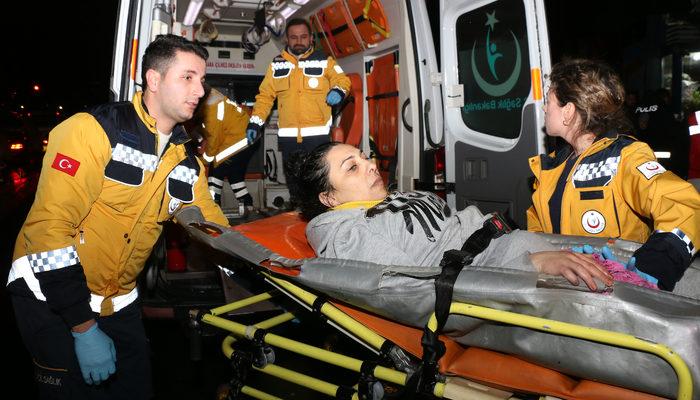 Şişli'de eski eşinin silahlı saldırısına uğrayan kadın yaralandı