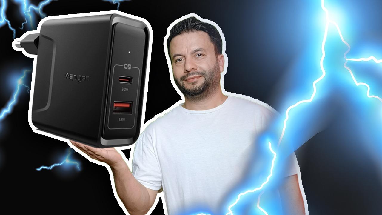 Spigen StediBoost 48W hızlı şarj cihazı inceleme Akıllı telefonlar için dayanıklı ve yüksek performans sunan aksesuarlar üreten Spigen'in MacBook ve ...