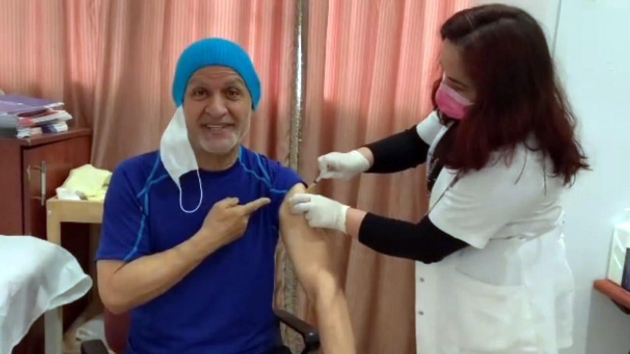 Talat Bulut Corona virüs aşısı oldu