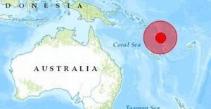 Pasifik'te 7 büyüklüğünde deprem oldu