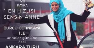 Ünlü Ralli Pilotu Ankara'da