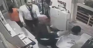 Erdoğan Bayraktar'dan güvenlik görevlisine dayak!