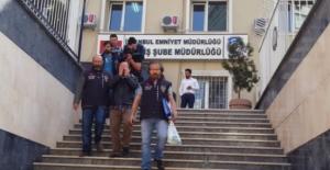 İstanbul'da ki oto hırsızları yakalandı