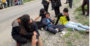 Niğde'de Korkunç Kaza!Öğrencileri Taşıyan Otobüs Uçuruma Yuvarlandı