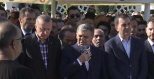 Cumhurbaşkanı Recep Tayyip Erdoğan cenazede gözyaşlarını tutamadı