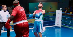 Şahan Gökbakar'dan geri adım... Azeri boksör filmden çıkarıldı