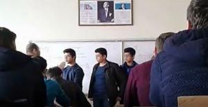 Sivas'ta öğrencilere sıra dayağı