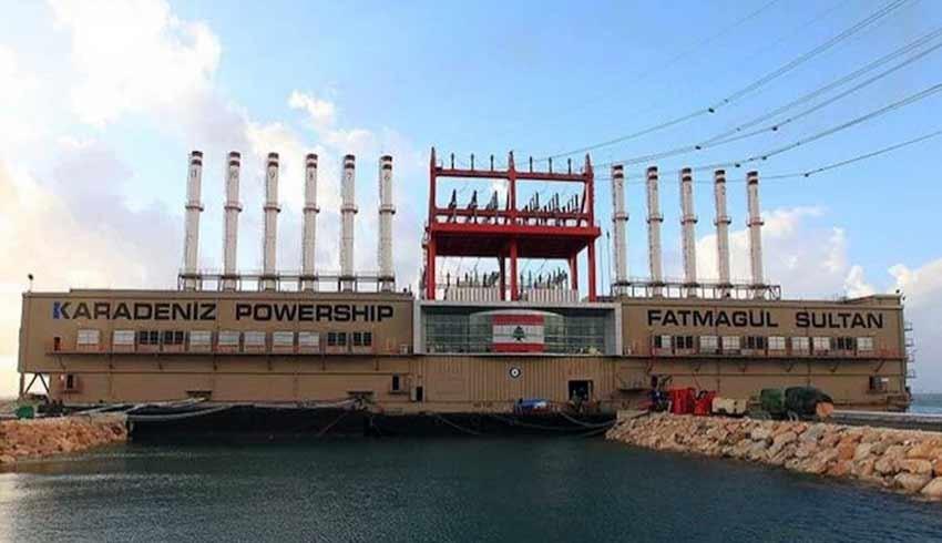 25 milyon dolar ceza kesilen Karadeniz Holding, Lübnan'ın elektriğini kesti!