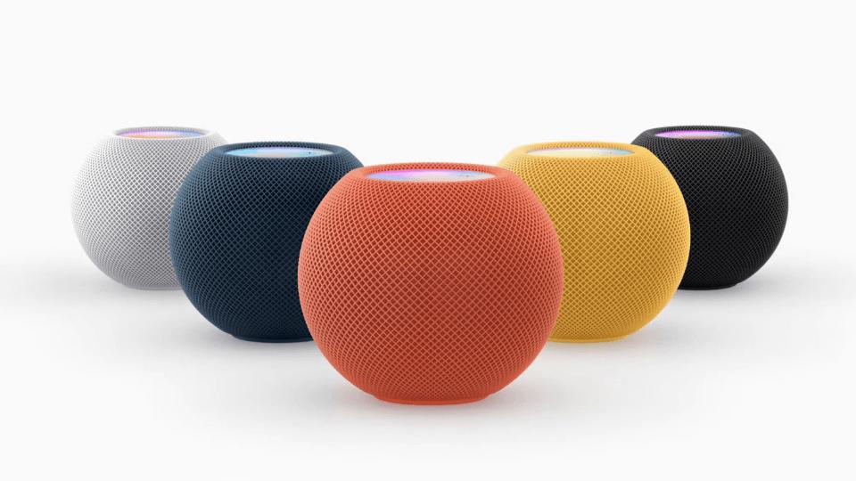 3 yeni renk seçeneğiyle yeni HomePod mini