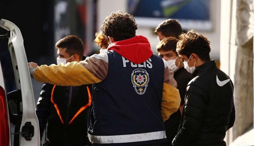 79 Bin kişiye 'Tam kapanma'ma cezası