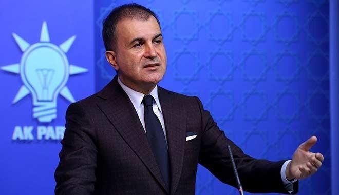 AK Partili Çelik: Bakanımızı, kabinemizi ve partimizi bir suç örgütü üyesinin laflarıyla hedef alanları kınıyoruz
