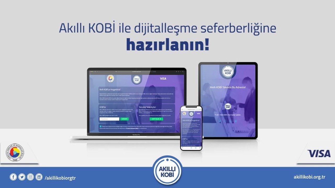 Akıllı KOBİ: TOBB ve Visa'dan KOBİ'nin dijitalleşmesi için pazaryeri