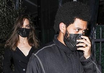 Angelina Jolie ile The Weeknd birlikte yemek yedi