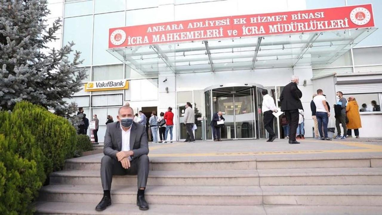 Ankara'da icraya düşenler 12 katlı daireye sığmıyor!