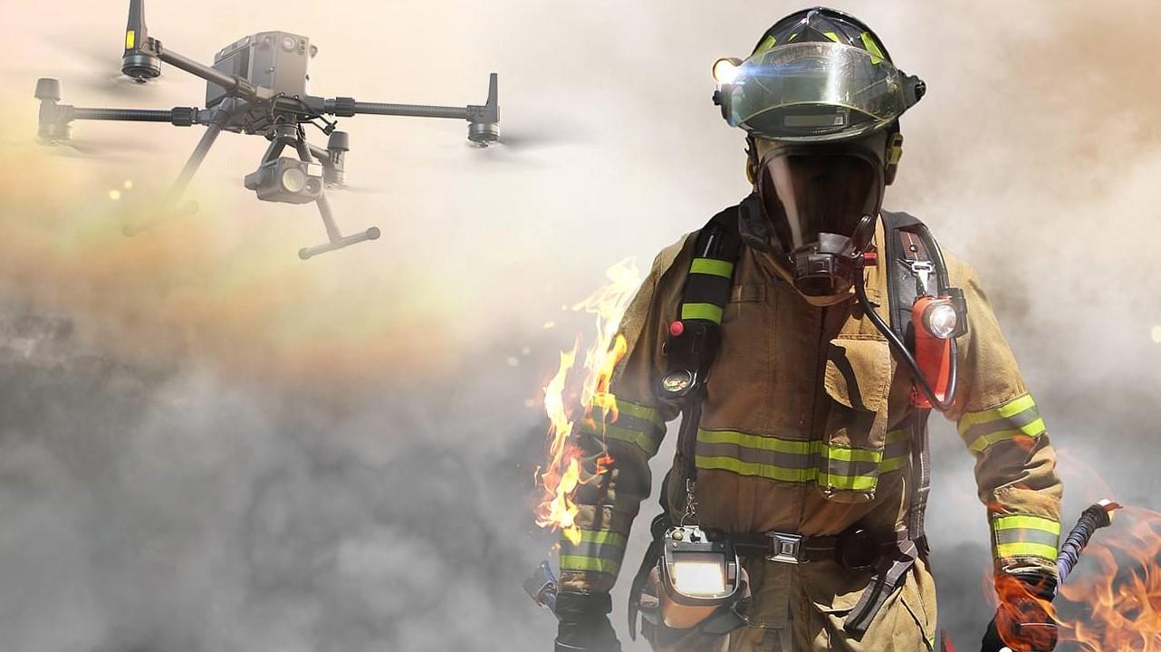 Ateşi ateşle söndüren drone, orman yangınlarının çözümü olabilir