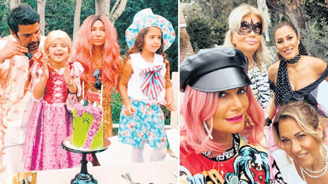 Begüm Şen Cadılar Bayramı partisinden paylaştı
