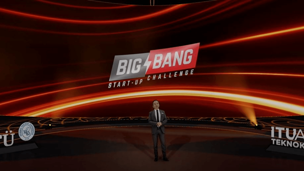 Big Bang Start-up Challenge sahnesinde 54 milyon 154 bin TL ödül ve yatırım dağıtıldı