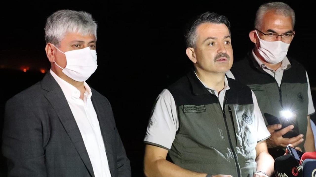 CHP'nin yangın sorusuna bakanlık 'Hava aracı yeterli' yanıtını vermiş