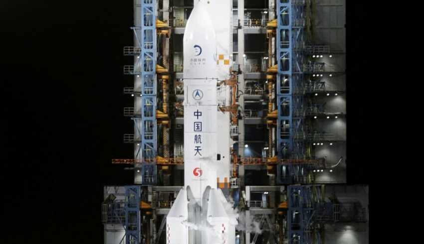 Çin'in roketi sonunda düştü! Dünya nefes aldı
