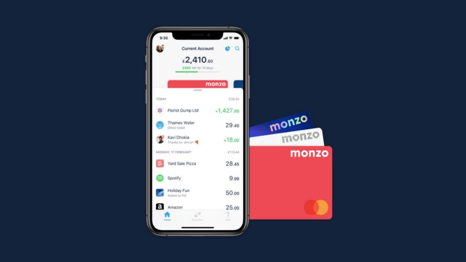 Dijital bankacılık girişimi Monzo, 60 milyon euro yatırım aldı