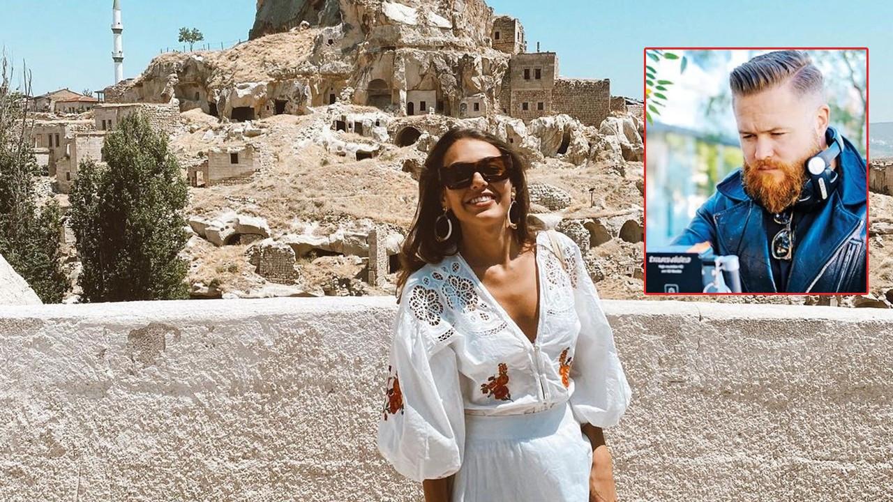 Dilan Çiçek Deniz yeni aşkına Kapadokya'yı gezdirdi