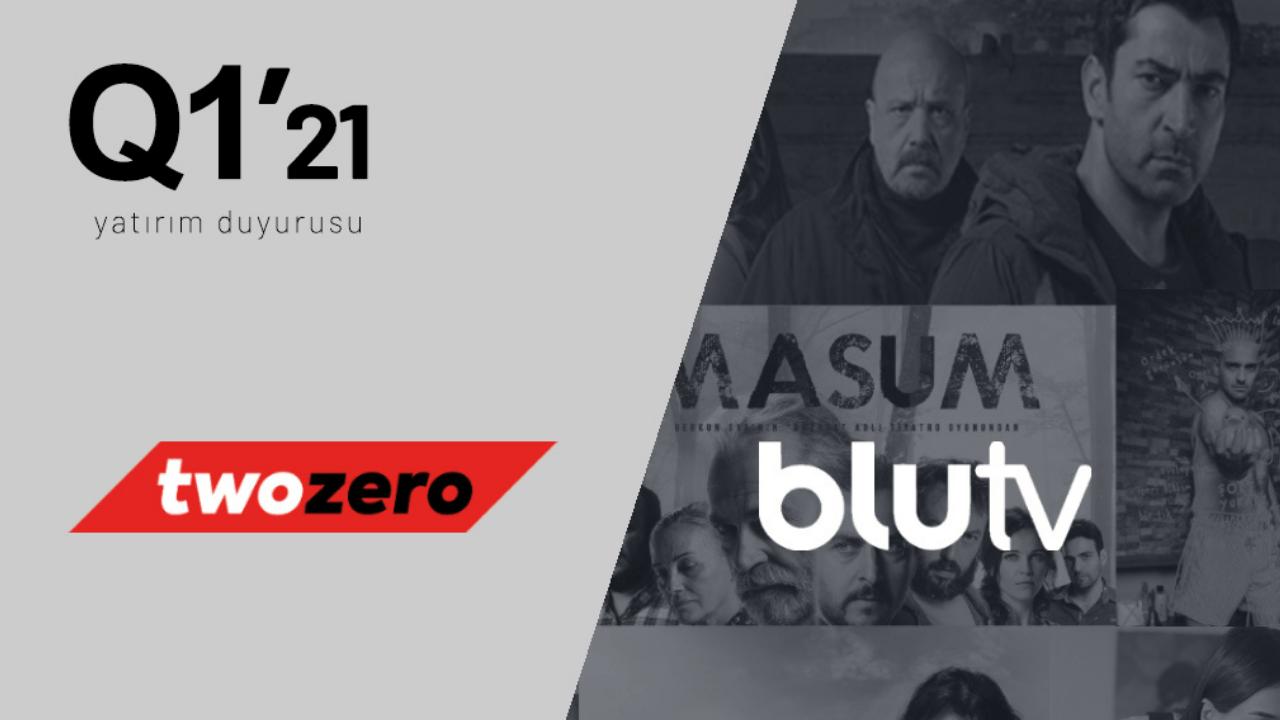 Discovery ile birlikte BluTV'ye yatırım yapan Twozero Ventures, şirketin yüzde 2,77 hissedarı oldu