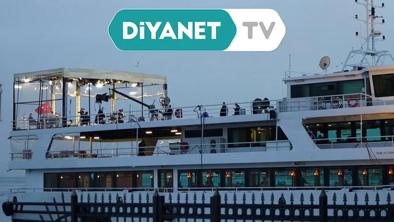 Diyanet TV'nin lüks teknedeki programı vatandaşları isyan ettirdi