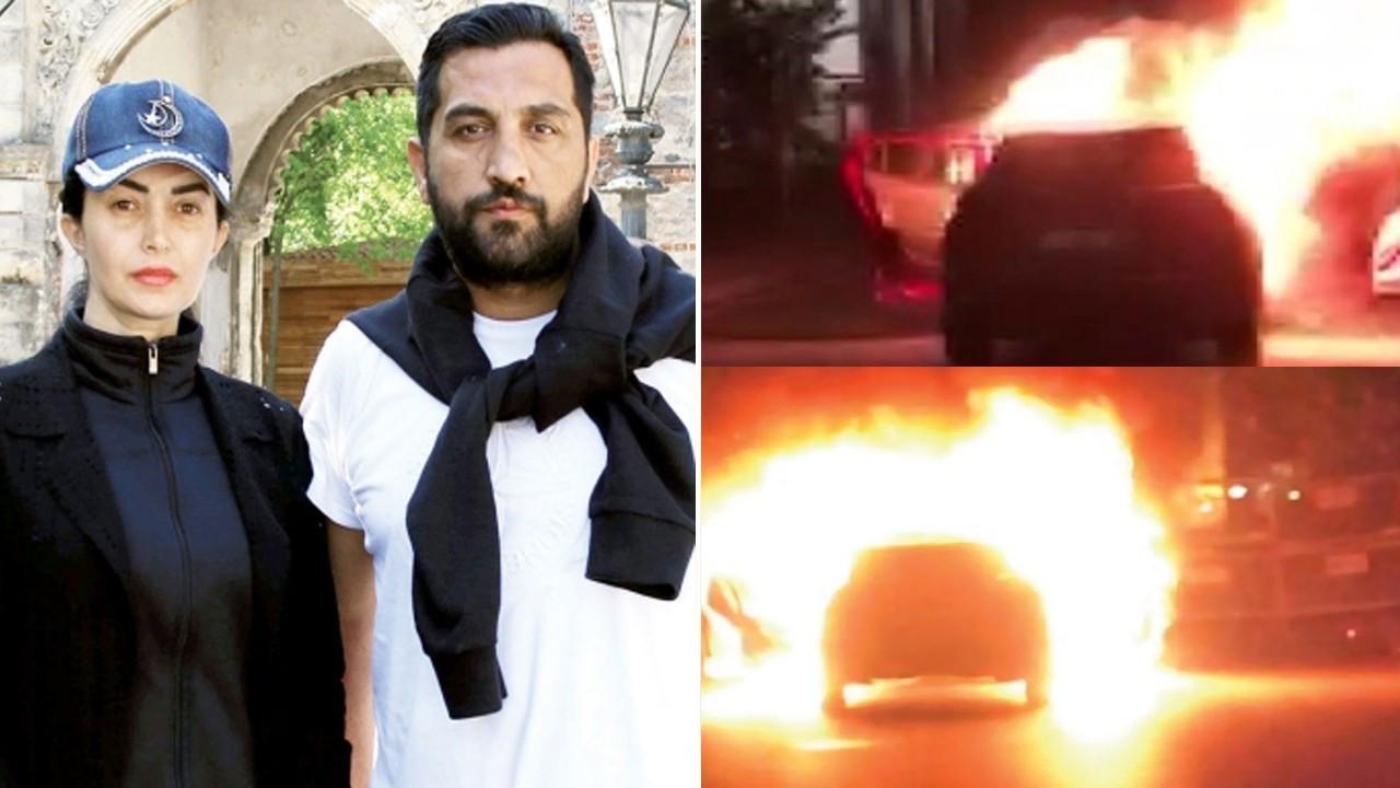 Dora Ercan ve eşi ciplerini ateşe verip evlerine metrobüsle döndü