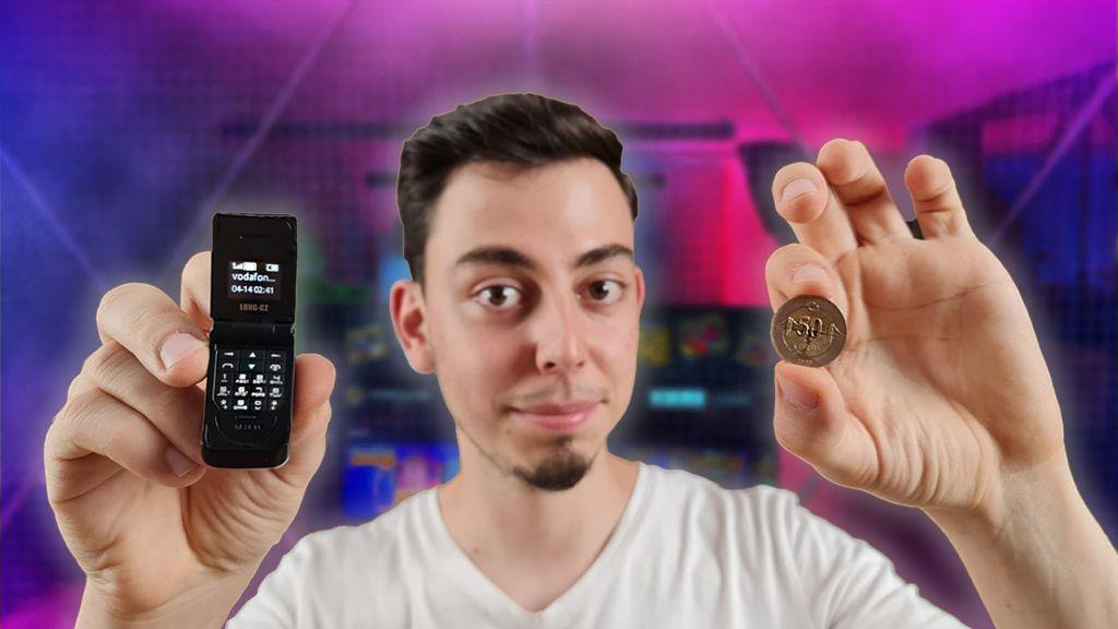Dünyanın en küçük telefonunu kutusundan çıkardık!