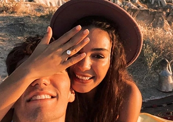 Ebru Şahin ile Cedi Osman evleniyor