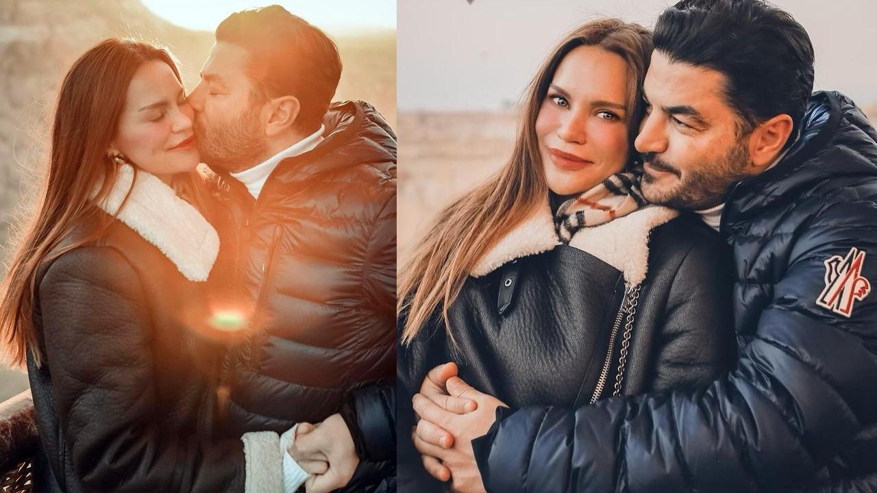 Ebru Şallı ve Uğur Akkuş'un balon romantizmi