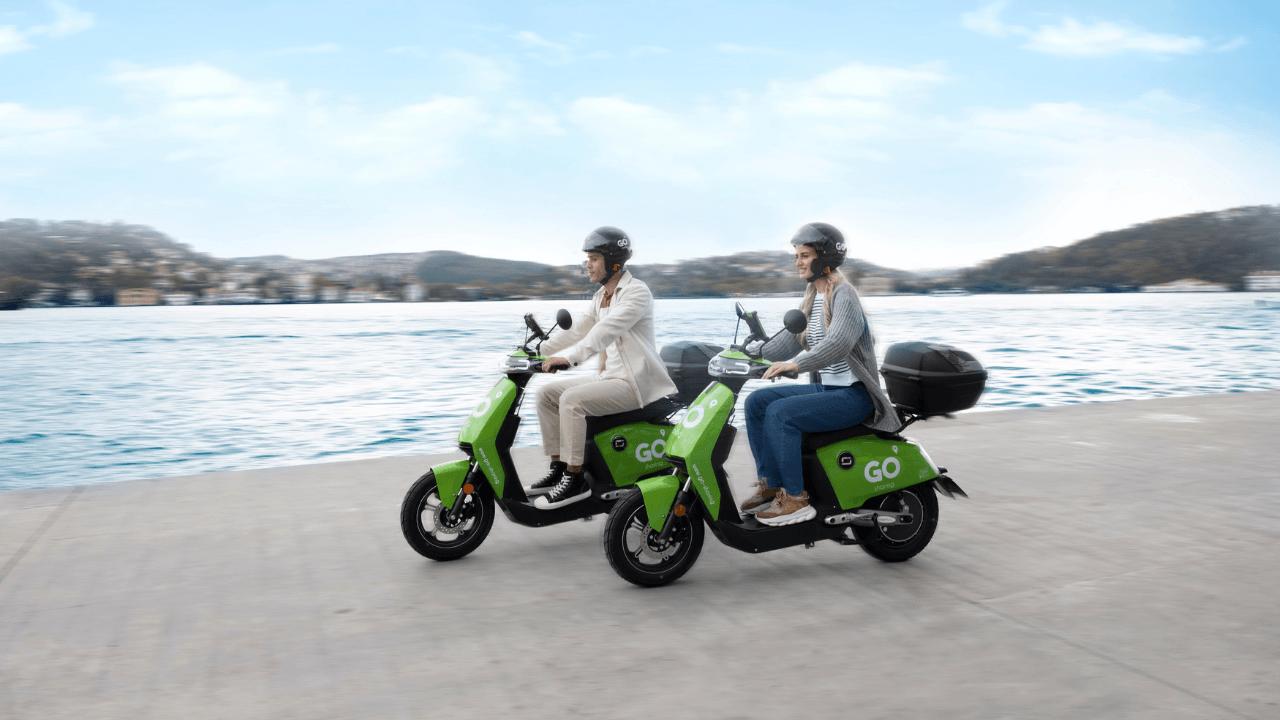 Elektrikli moped kiralama girişimi GO Sharing, Türkiye'de hizmet vermeye başladı