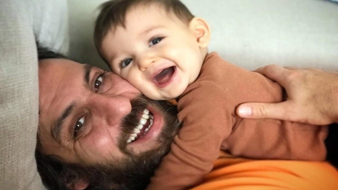 Erkan Kolçak Köstendil'den oğlu Marsel'le paylaşım