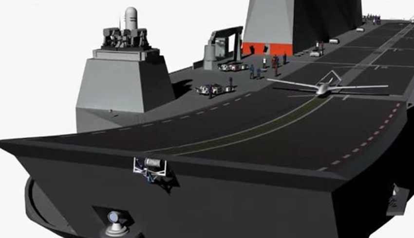 Forbes: Türkiye, dünyanın ilk gerçek drone uçak gemisini yapacak