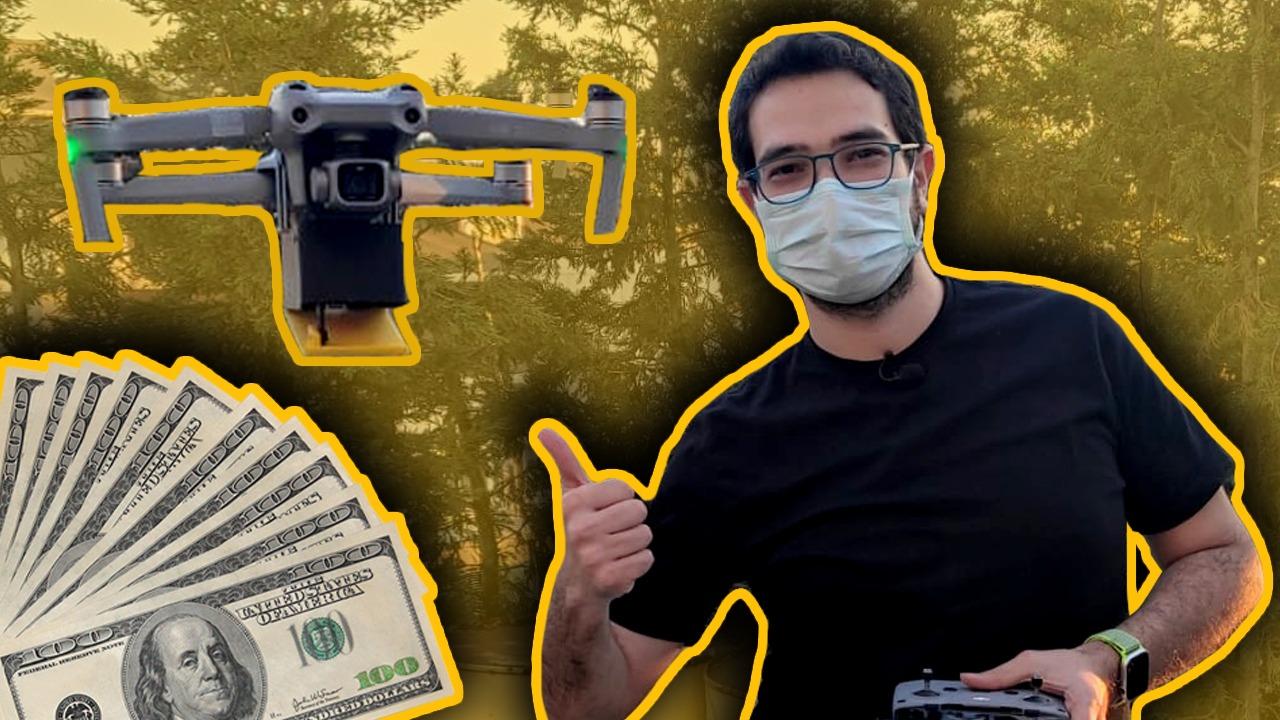 Furkan parasını unutunca drone ile para gönderdik! Dünyada teslimat tiplerinin şekli son zamanlarda değişerek drone ile teslimat dönemine geçildi. Biz ...