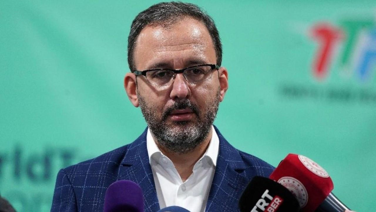 Gençlik ve Spor Bakanı Kasapoğlu Corona virüse yakalandı