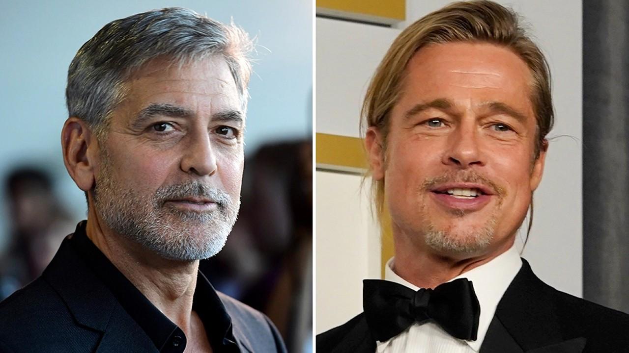 George Clooney ve Brad Pitt'in sürpriz buluşması